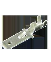 805502BL2 Uninsulated Male Spade Terminal