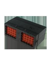 DRC14-40PA Deutsch DRC Series In-Line Receptacle – 40 Pins