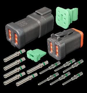dt6cat deutsch 6 pin cat dt series complete connector kit qvee rh qvee com au
