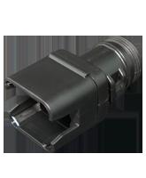 DT8SBS-ST Deutsch DT Series Straight Backshell to suit 8 Pin Plug
