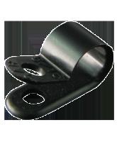 "NP7.9SB 7.9mm Nylon ""P"" Clip – 4.6mm Mounting hole"