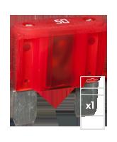 QVMAX50BL 50 Amp Maxi Blade Fuse