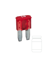 QVMIC210/25 10 Amp Micro 2 Blade Fuse