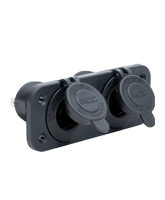 QVPSFM2AA Twin Flush Mount Accessory / Accessory Socket