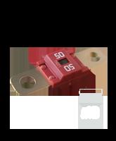 QVMID50/10 50 Amp 58V Midi Fuse
