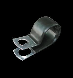 P Clips Plastic Coated Steel