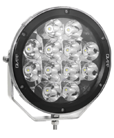 QVSL120SHD 120w High Powered Round LED Spotlight – Spot Beam