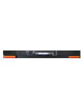 RHBAR1250-NT11 Black Alloy Mine Bar with Slimline Beacon / Front Facing Indicators