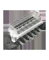 FB1006 6 Way Standard Blade Fuse Box
