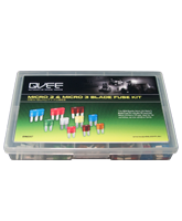 QVMICKIT Micro 2 and Micro 3 Blade Fuse Assortment Kit